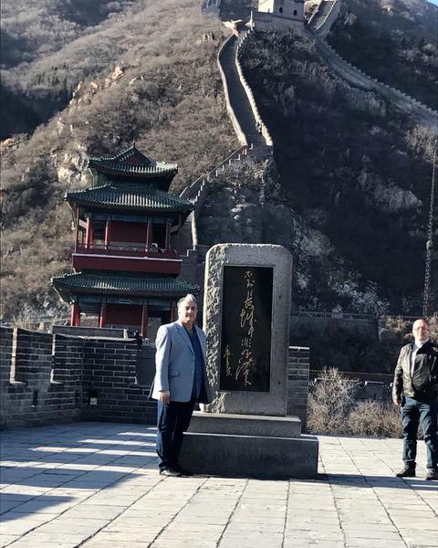 سفر ایرج نوذری به چین+عکس