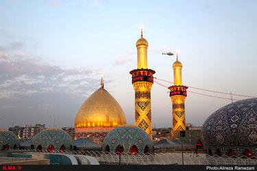 صحن و سرای حضرت عباس(ع) در ایام اربعین حسینی