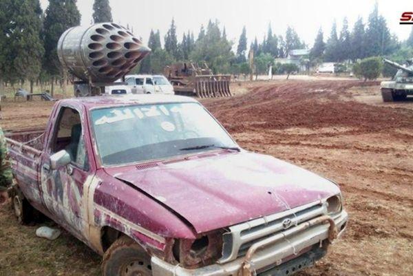 موشک های قطری در دستان تروریست های سوریه