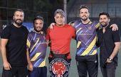 دوستان فوتبالی پدرام کریمی + عکس