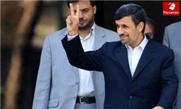 بازدید احمدینژاد از پروژه سینمایی «رنج و سرمستی»