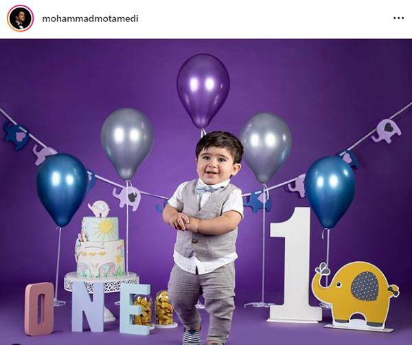 پسر کوچولو بانمک محمد معتمدی+عکس