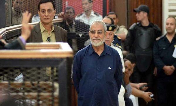تایید حکم حبس ابد رهبر اخوانالمسلمین مصر