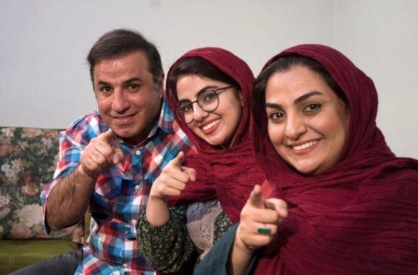 عکس خانوادگی مرحوم علی سلیمانی با همسر و دخترش