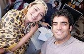 سانیا سالاری در پشت صحنه عاشقانه ۲ + عکس