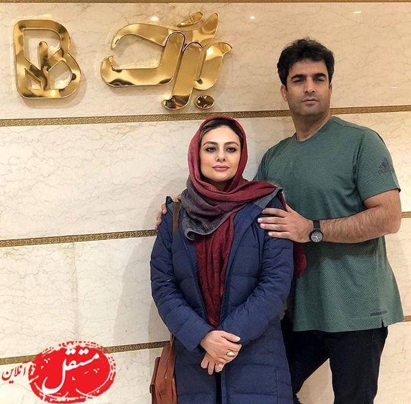 عکس یکتا ناصر و همسر معروفش