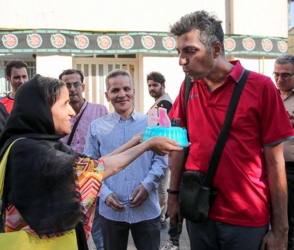 تولد بین راهی عادل فردوسی پور+عکس