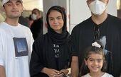 اشکان خطیبی در کنار بازیگران زخم کاری + عکس