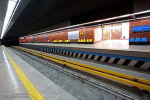پخش کلیپ فرماندهان در مترو