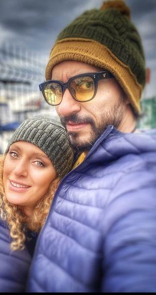 عاشقانه های نگین معتضدی و همسرش + عکس