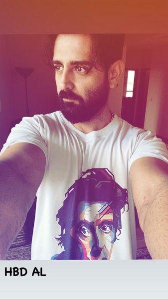 سلفی جدید امیرحسین آرمان + عکس