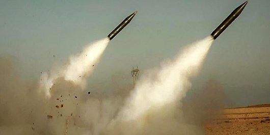 تست موشکی نیروی زمینی ارتش در یکی از مناطق کشور