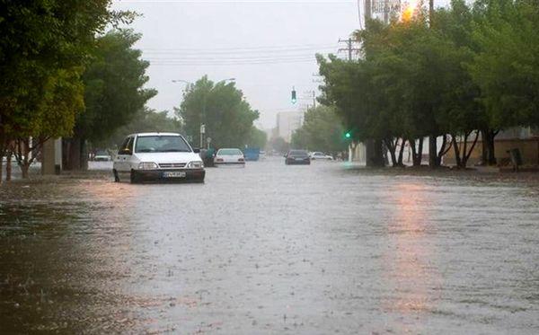 """""""بارش شدید باران"""" و سیلابی شدن رودخانهها در انتظار کدام استانها است"""