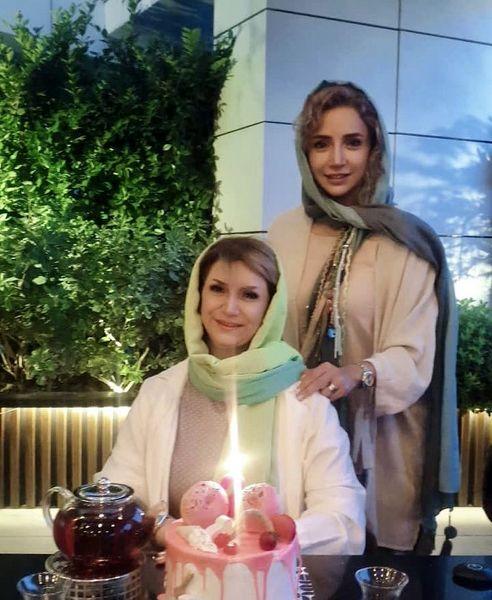 حضور شبنم قلی خانی در تولد خواهرش + عکس