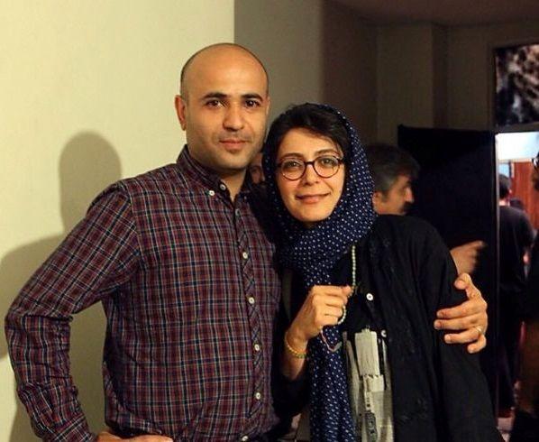 عکس الهام کردا و همسر بازیگرش