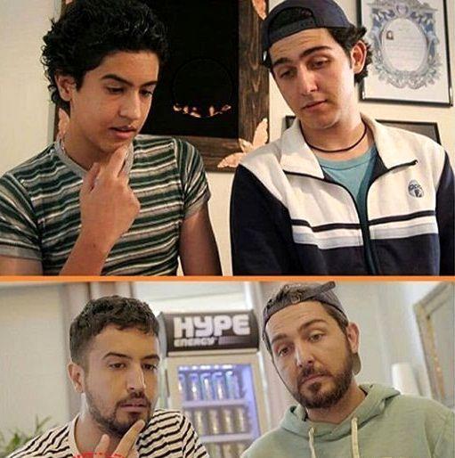 مهرداد صدیقیان و محمدرضا غفاری در گذر زمان + عکس