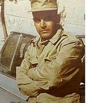 حمید لولایی با لباس های سربازیش + عکس