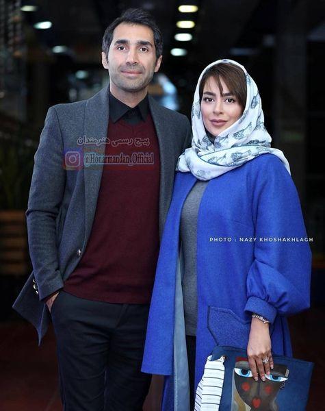 عکس تازه عروس داماد بازیگر