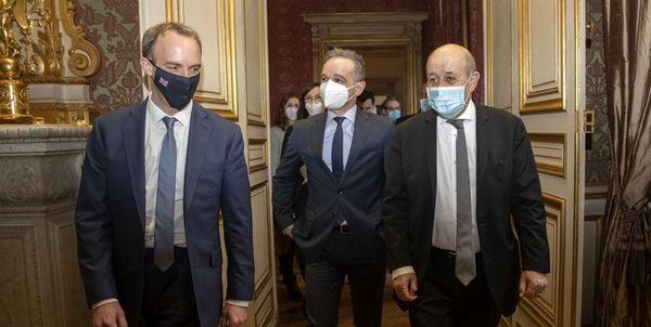 وزرای خارجه سه کشور اروپایی درباره ایران