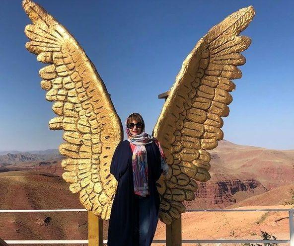 عکس فرشته ای شبنم قلی خانی