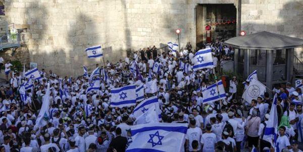 افزایش تدابیر امنیتی در قدس اشغالی در آستانه راهپیمایی پرچم