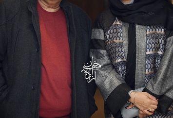 لیندا کیانی با آقای کارگردان معروف