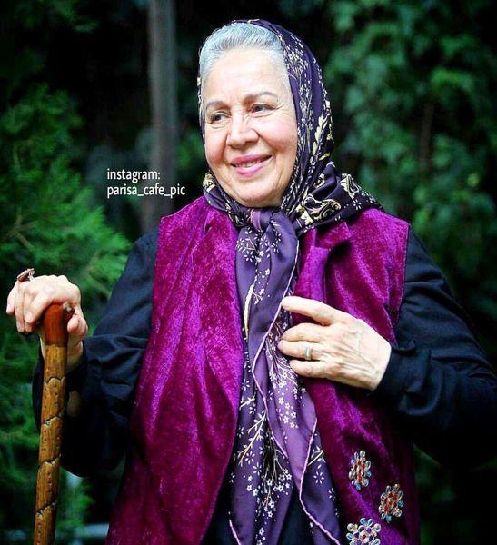 تیپ خوشرنگ و شاد مادربزرگ مهربان فیلم ها+عکس