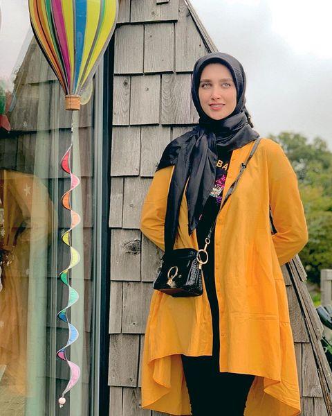 زاویه جدید نگاه آناشید حسینی+عکس