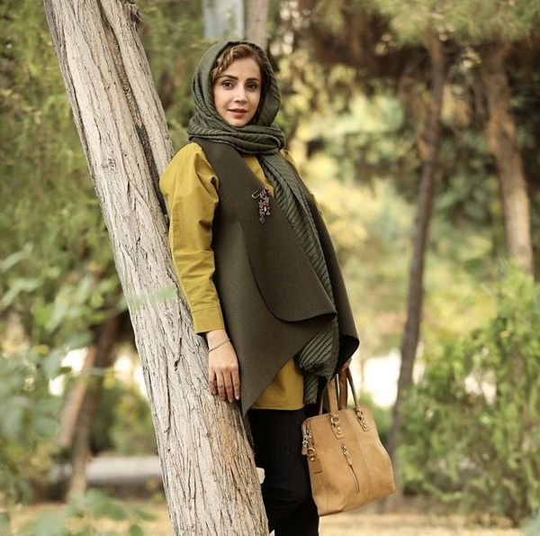 شبنم قلی خانی در دل طبیعت + عکس