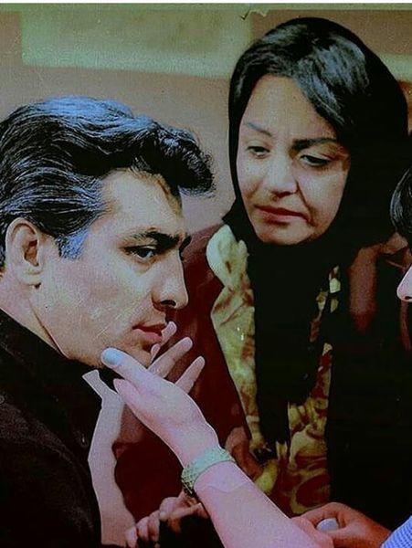 عکس جوانی خانم بازیگر قبل انقلاب کنار فردین