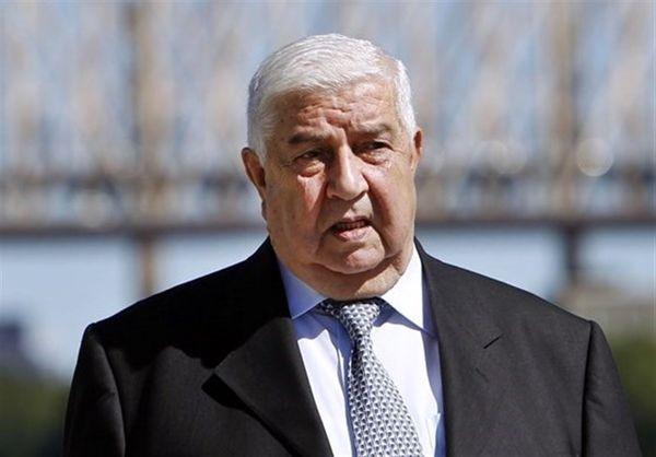دیدار هیئت پارلمانی اردن با وزیر خارجه سوریه