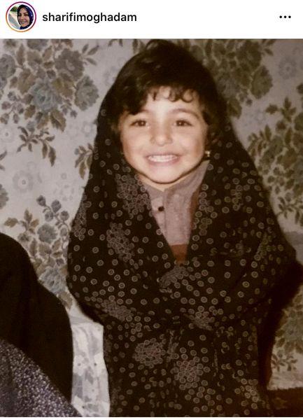 شیطنت های المیرا شریفی مقدم در کودکی + عکس