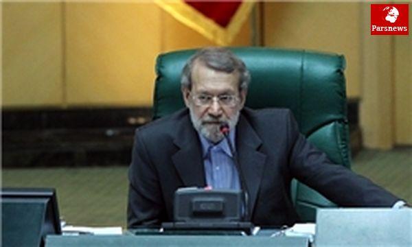 لاریجانی:بیانات امروز رهبر انقلاب برای مردم و مسئولان راهگشا است