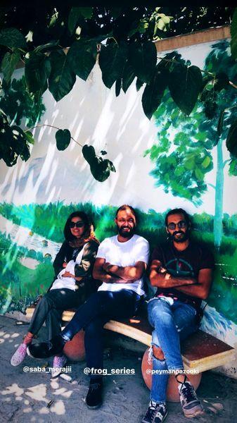 صابر ابر بر نیمکت مدرسه+عکس