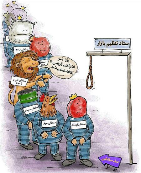 کاریکاتور عاقبت سلطان شدن