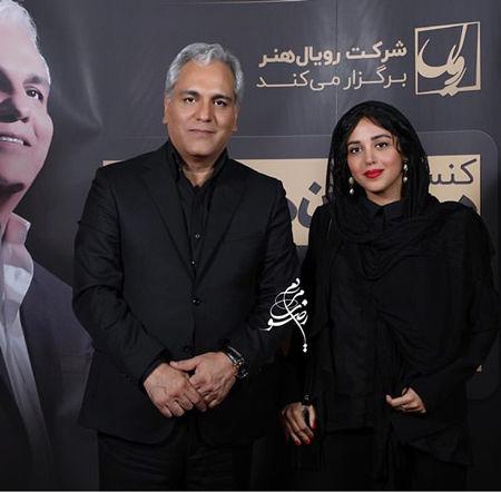 تیپ مشکی هنگامه حمیدزاده در کنسرت+عکس