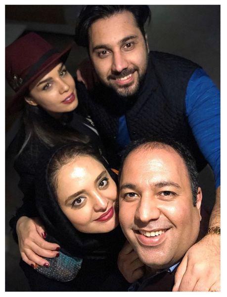 دیدار خانوادگی احسان خواجه امیری با خانواده ستایش +عکس