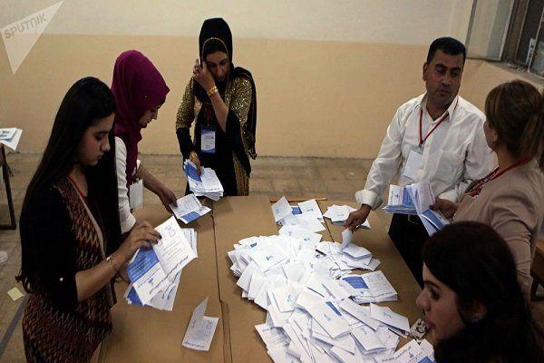 نتایج اولیه انتخابات پارلمانی عراق در چند استان اعلام شد