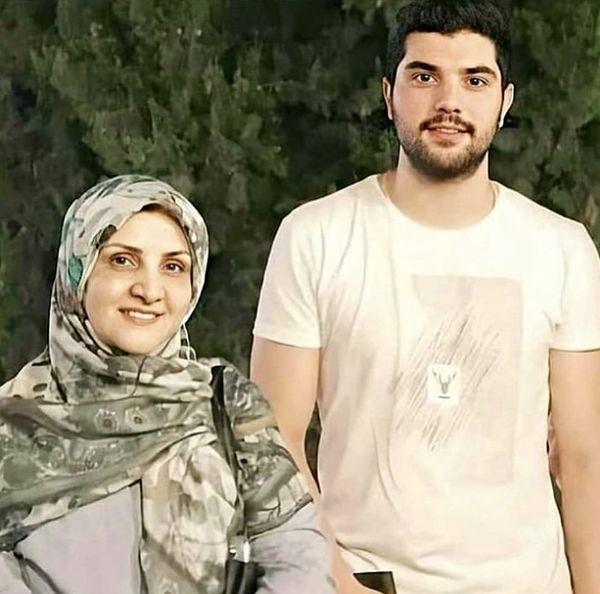 آقازاده مشهور و مادرش + عکس
