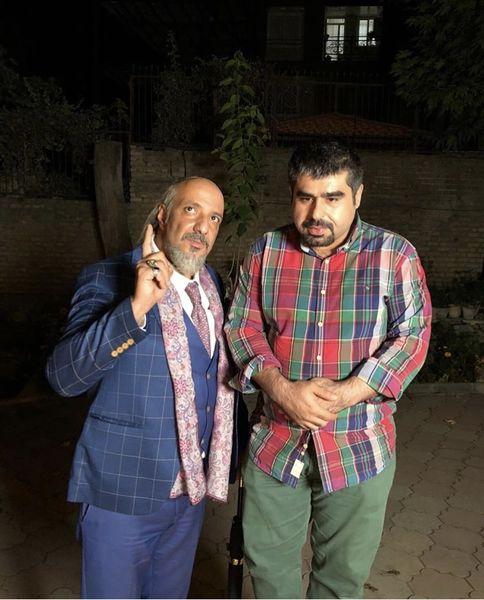 سر به زیر شدن امیر نوری در کنار امیر جعفری + عکس
