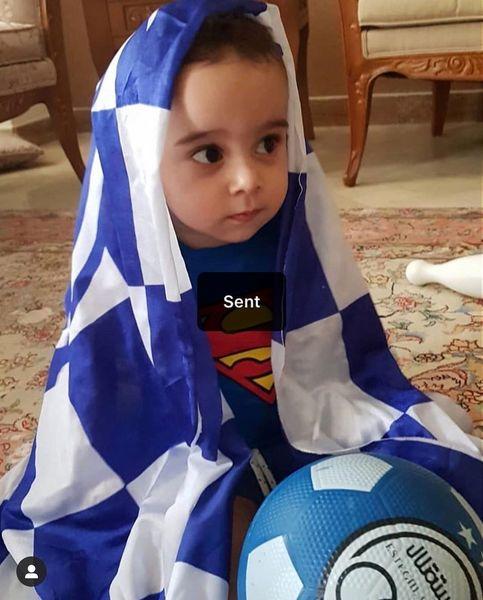 شراره رخام و بچه اشتباهی اش+عکس