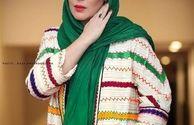 تیپ رنگی رنگی سارا منجزی پور+عکس