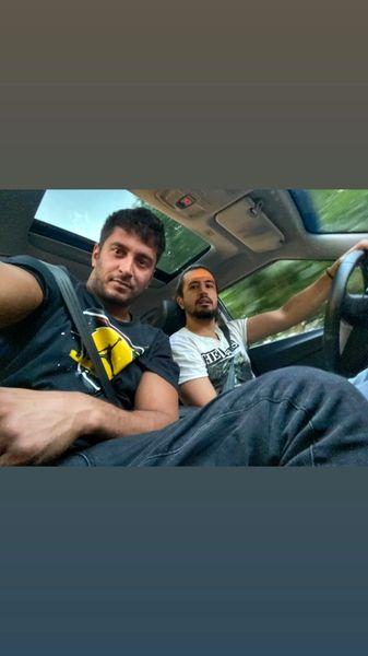 ماشین شخصی مهرداد صدیقیان + عکس