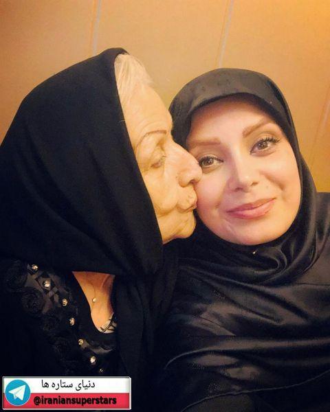 عکس صبا راد با مادر شوهر مهربانش