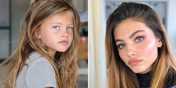 زیباترین دختر دنیا که به مدلی معروف تبدیل شد