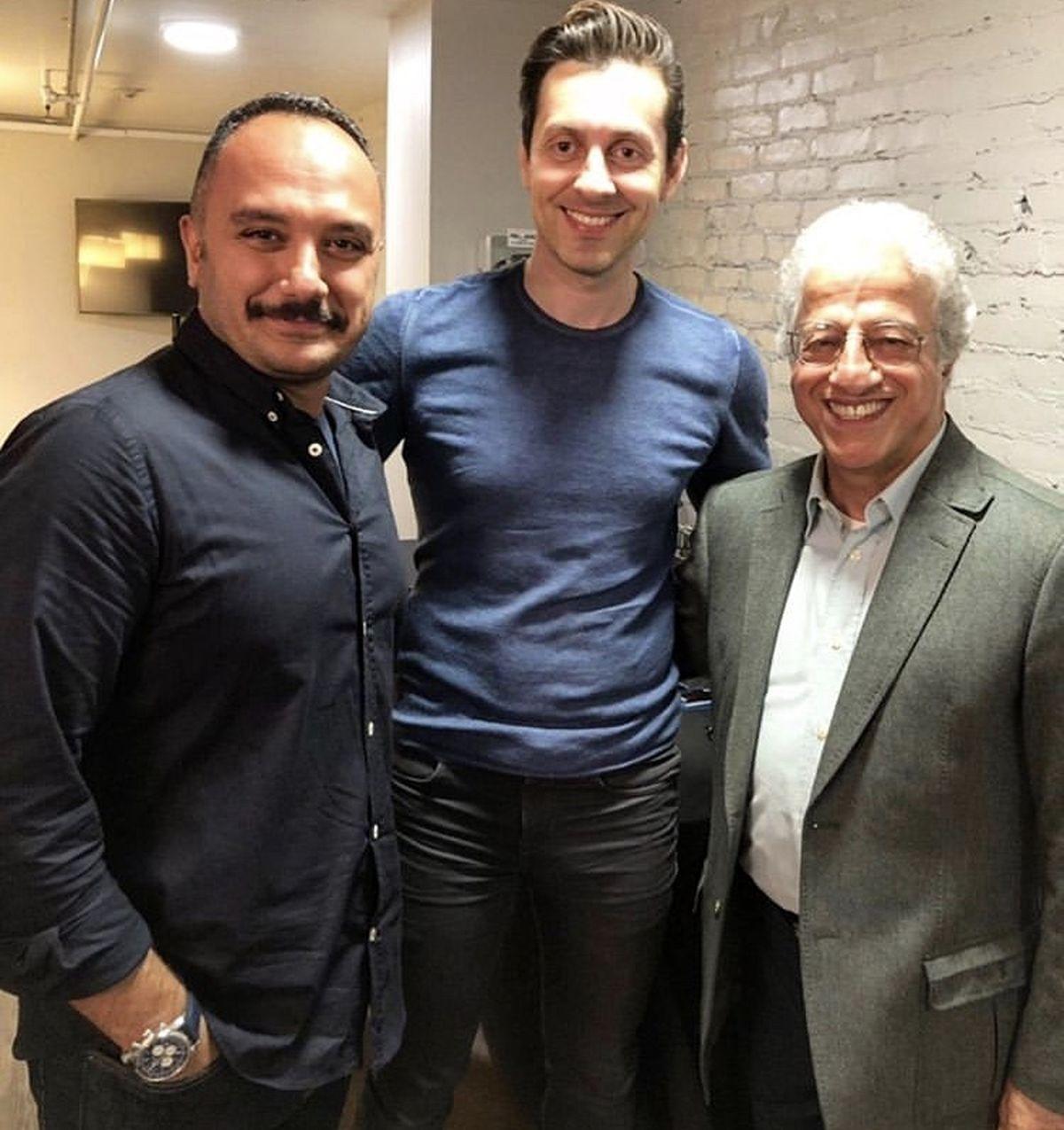 احسان کرمی و دوست بازیگر مشهورش + عکس