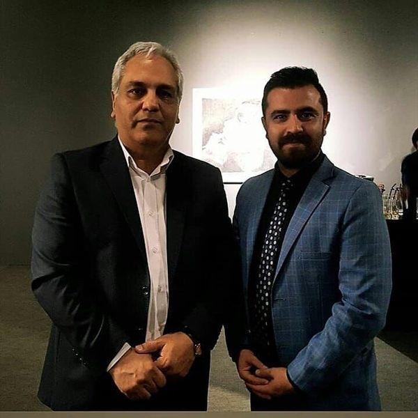 مهران مدیری در جشن موفقیت پسرش+عکس