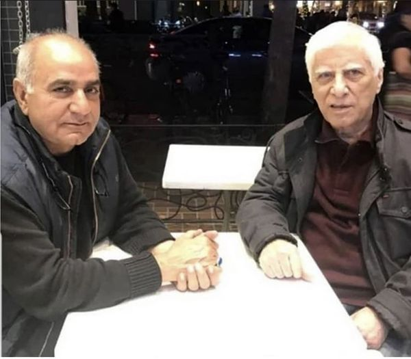 پرویز پرستویی در کنار بهرام بیضایی + عکس