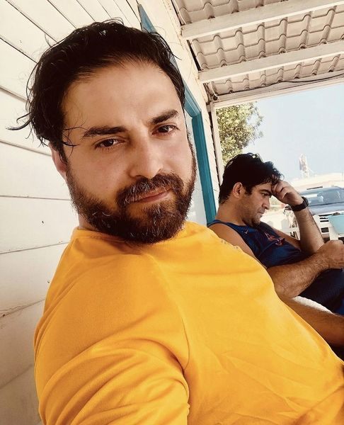 چهره پیر شده بابک جهانبخش + عکس