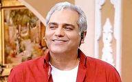 لبان خندان «مهران مدیری» در یک مراسم/ عکس